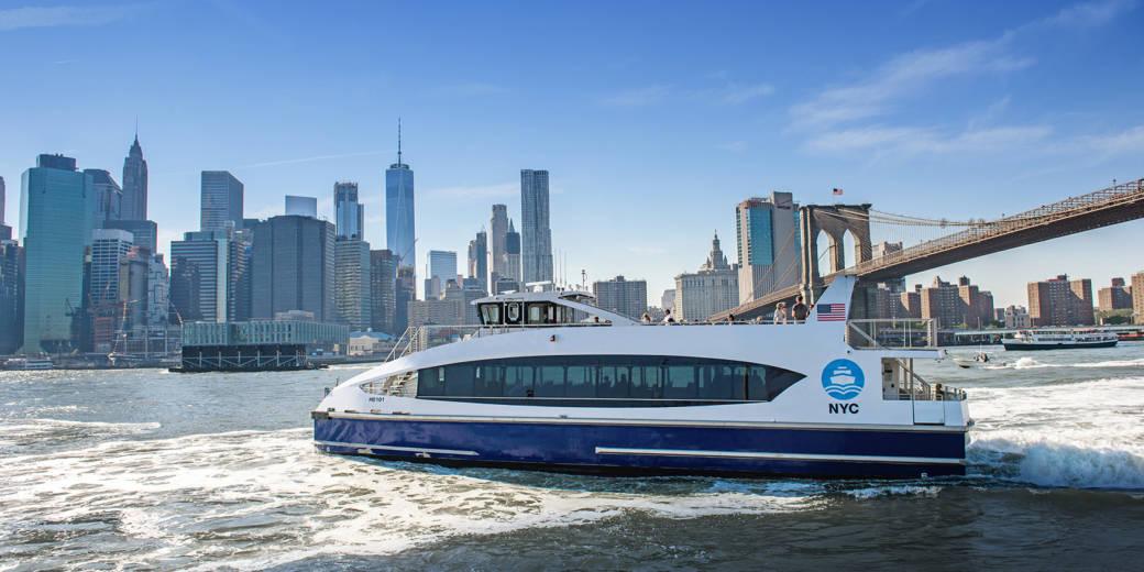 Metal Shark NYC Ferry